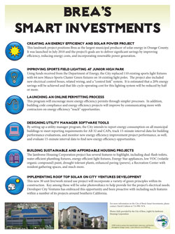 Brea's Smart Investments Poster