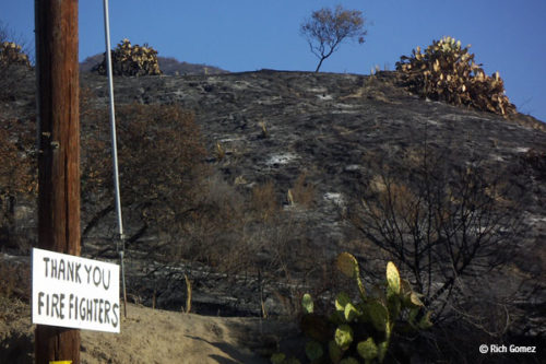 2007 Santiago Fire